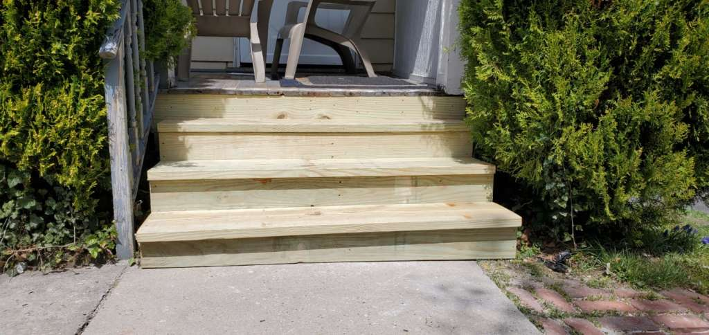 New Exterior Stairs