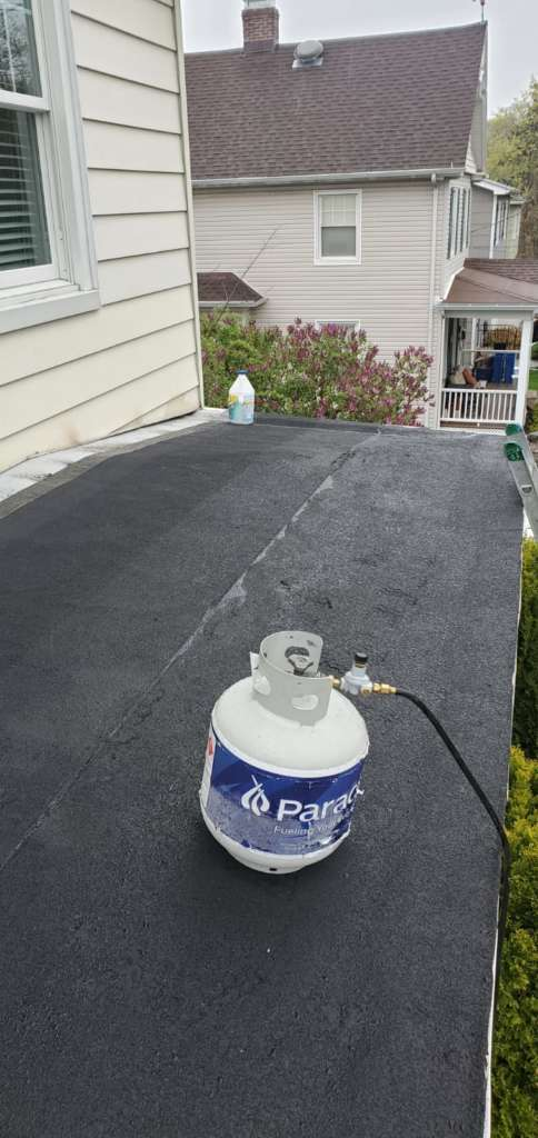 Flat Roof Renovation After