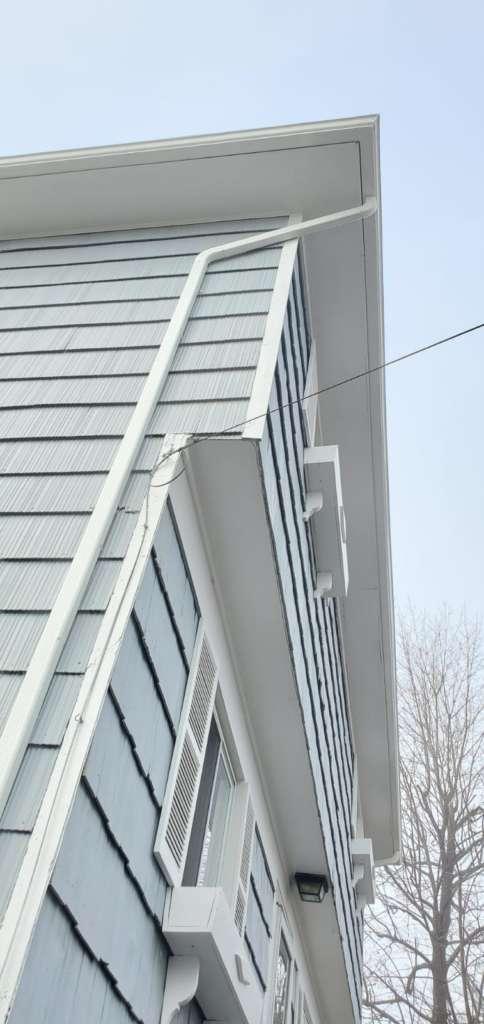 New Gutter Installation Project Shot 2