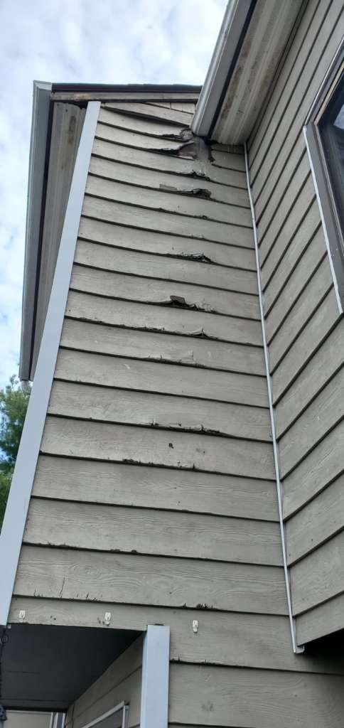 Ripped Shingle Balcony