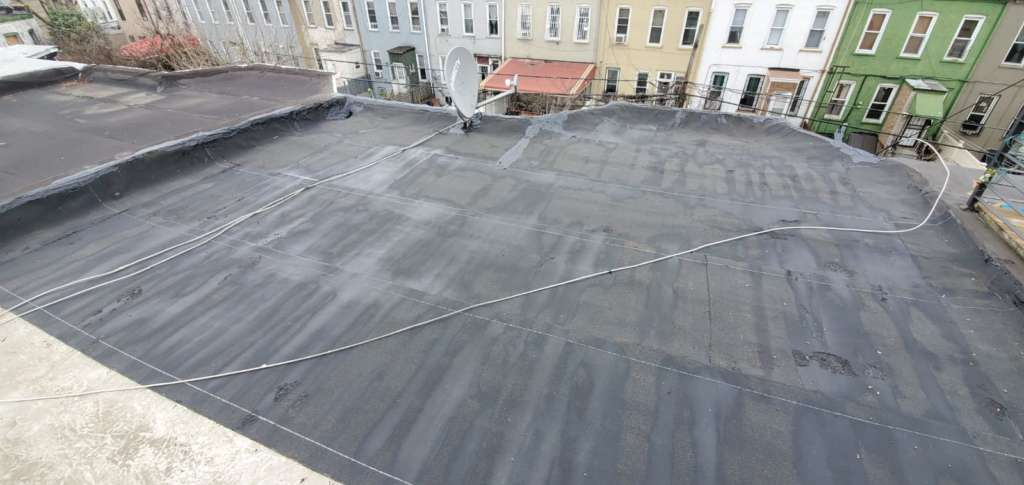 Flat Roof Repair in Brooklyn NYC Project Shot 1