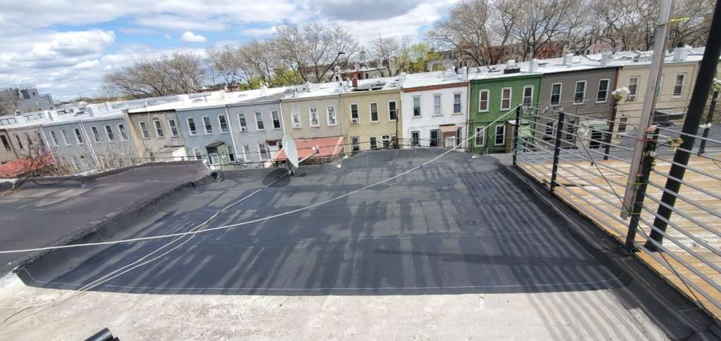 Flat Roof Repair in Brooklyn NYC Project Shot 3