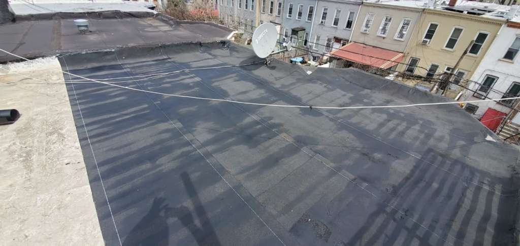 Flat Roof Repair in Brooklyn NYC Project Shot 5