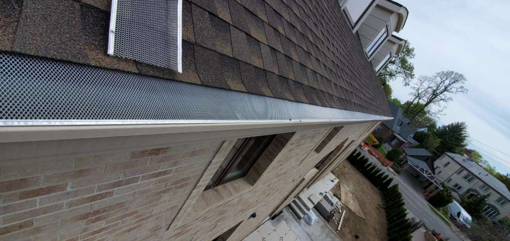 New Gutter Installation Jamaica NYC Project Shot 3