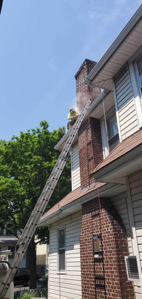 Project: Chimney Flashing Service in the Bronx - Project Shot 2