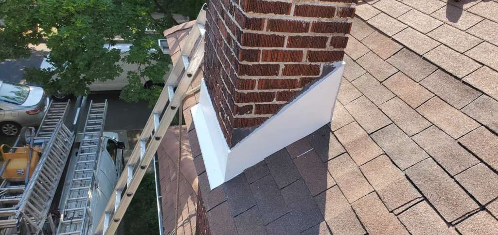 Project: Chimney Flashing Service in the Bronx - Project Shot 4