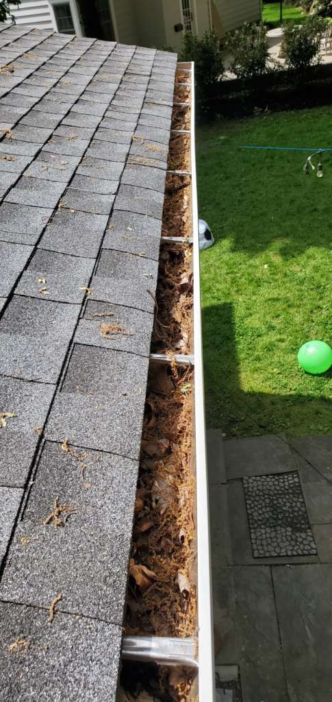 Project: Gutter Cleaning and New Filter Installation in Rochelle Project Shot 3
