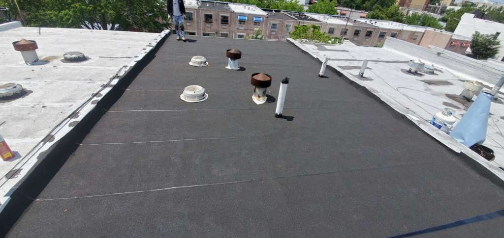 Project: Existing Flat Roof Replacement in the Bronx Project Shot 1