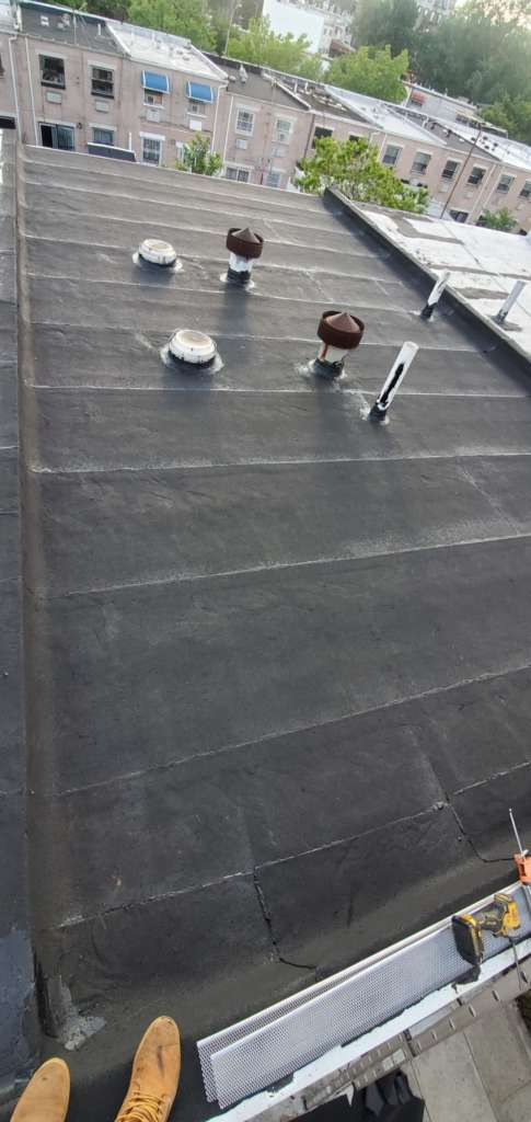 Project: Existing Flat Roof Replacement in the Bronx Project Shot 3