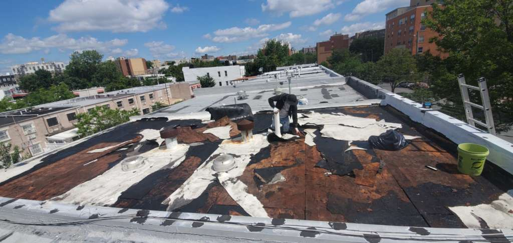 Project: Existing Flat Roof Replacement in the Bronx Project Shot 4