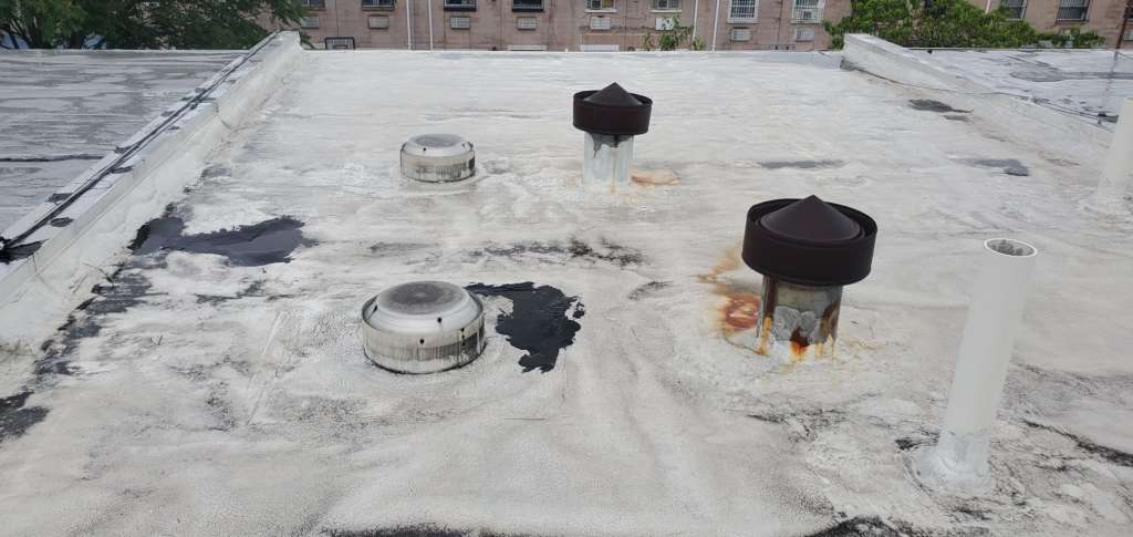 Project: Existing Flat Roof Replacement in the Bronx