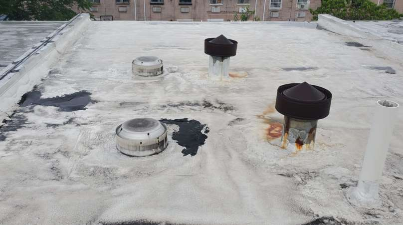 Project: Existing Flat Roof Replacement in the Bronx Project Shot 5
