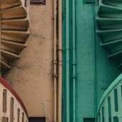 Exterior Spiral Stair Designs