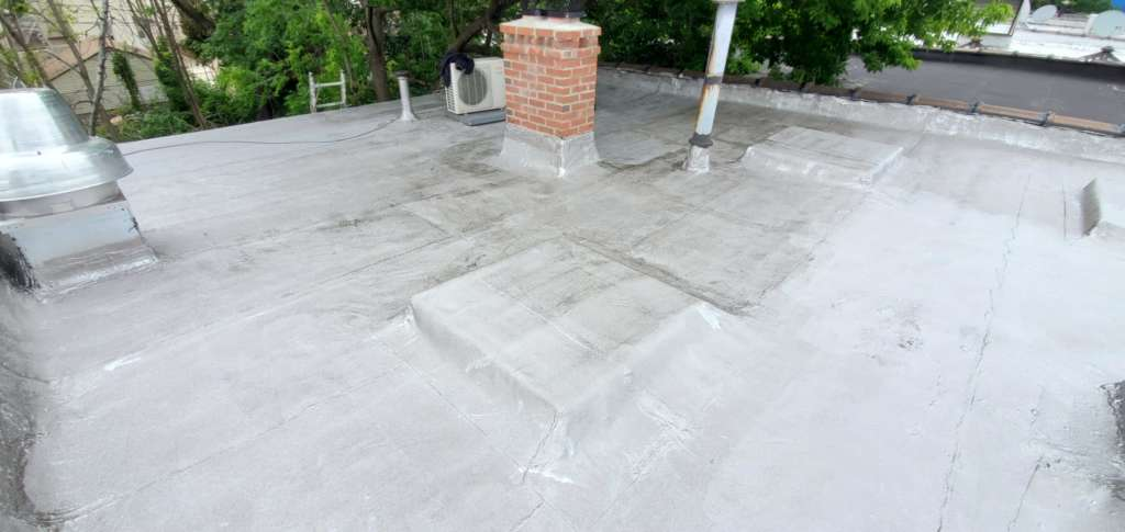 Project: Flat Roof Damaged Armature Repair Project Shot 4