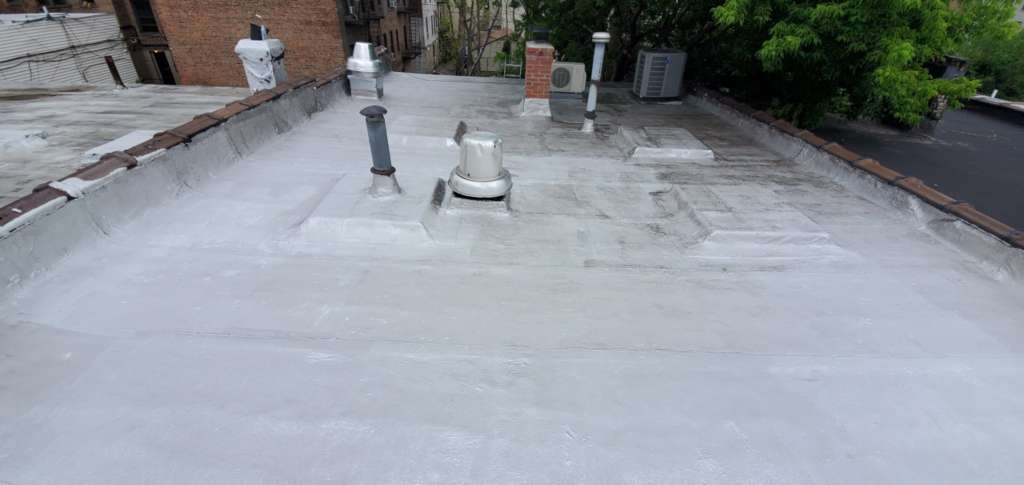 Project: Flat Roof Damaged Armature Repair Project Shot 6
