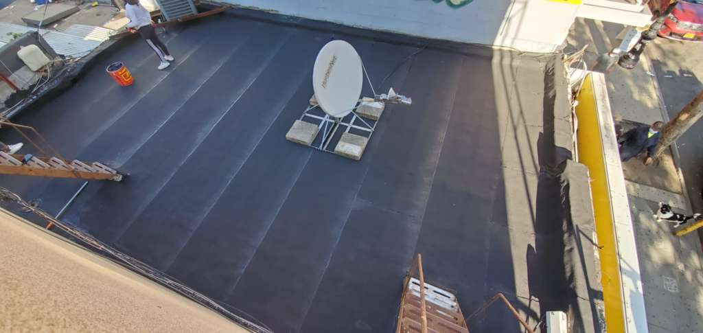 Flat Roof Replacement in the Bronx Project Shot 1