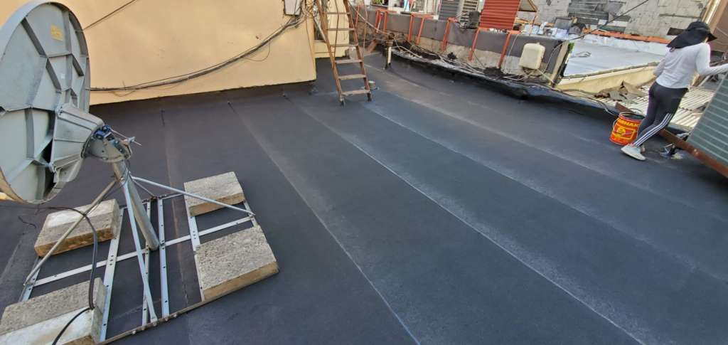 Flat Roof Replacement in the Bronx Project Shot 2
