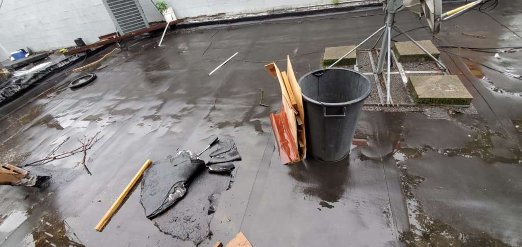 Flat Roof Replacement in the Bronx Project Shot 4