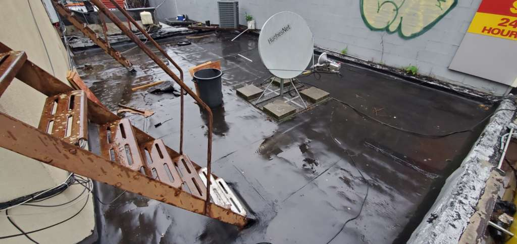 Flat Roof Replacement in the Bronx Project Shot 5
