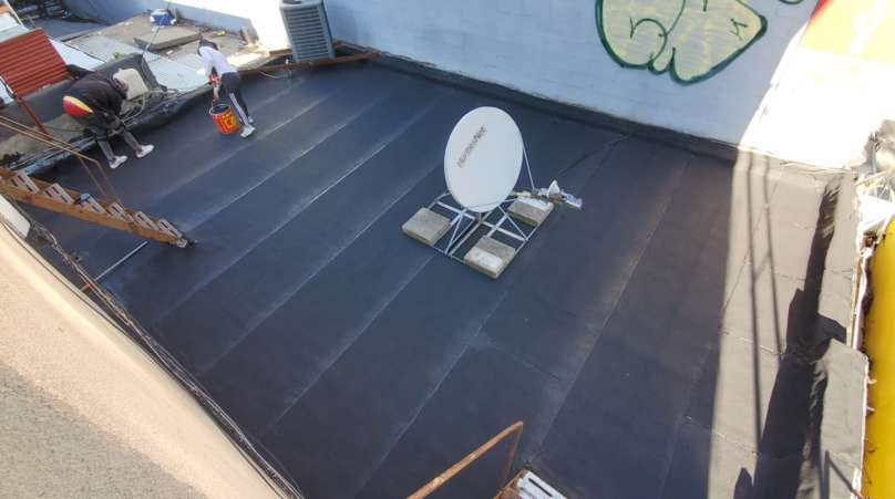 Flat Roof Replacement in the Bronx Project Shot 6