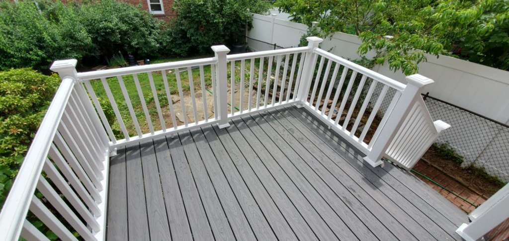 Home Deck Replacement Service in the Bronx: Project Shot 1