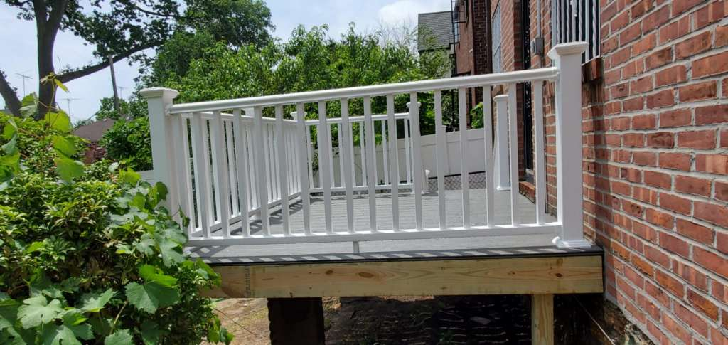Home Deck Replacement Service in the Bronx: Project Shot 2