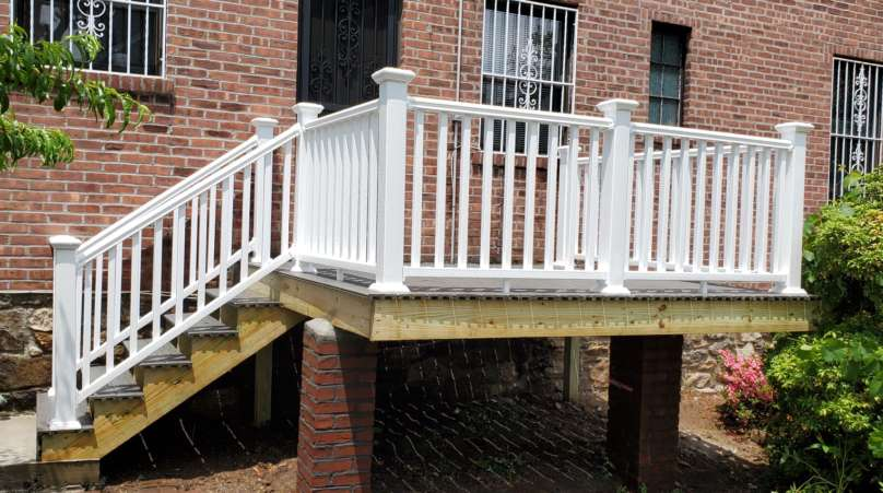 Home Deck Replacement Service in the Bronx: Project Shot 5