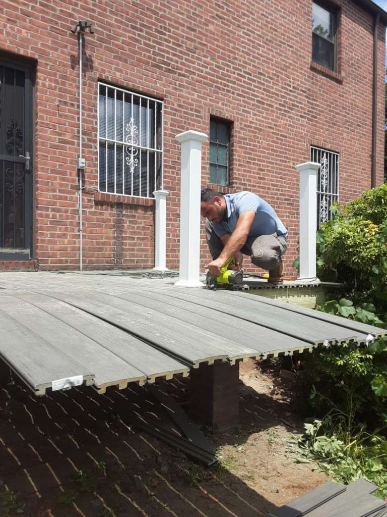 Home Deck Replacement Service in the Bronx: Project Shot 6