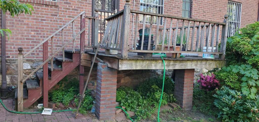 Home Deck Replacement Service in the Bronx: Project Shot 7