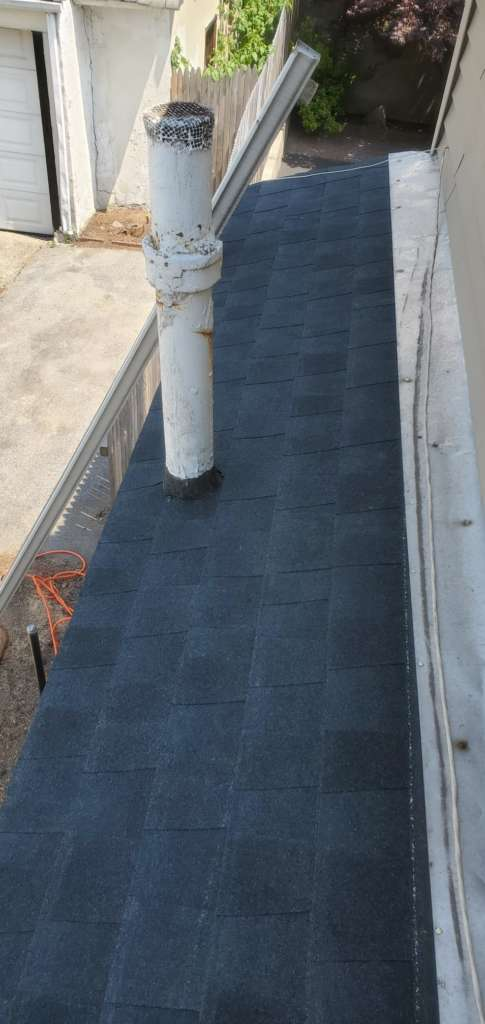 New Single Roof Replacement in Brunsville Project Shot 1