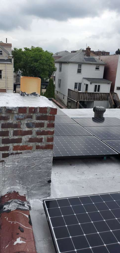 Project: Chimney Cap Installation in the Bronx Project Shot 1