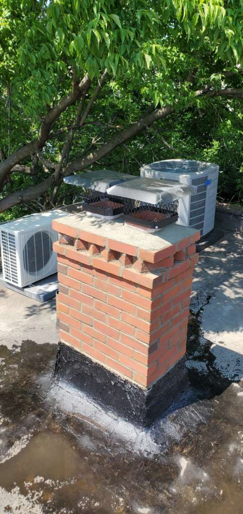 Project: Exterior Chimney Renovation Service in the Bronx Project Shot 1