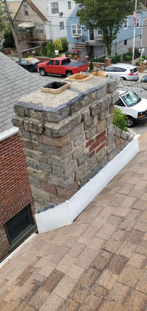 Project: New Aluminum Flashing Installation in the Bronx Project Shot 5