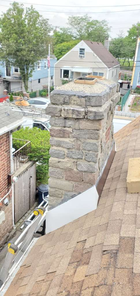 Project: New Aluminum Flashing Installation in the Bronx Project Shot 6
