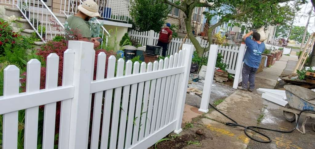 Project: Outdoor Fence Installation in the Bronx Project Shot 2