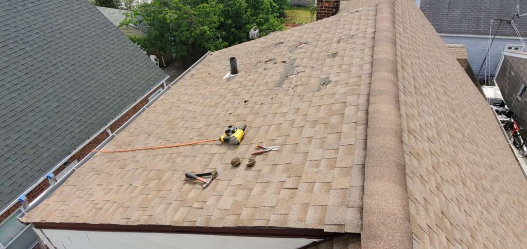 Project: Shingle Replacement and New Roof Installation Service Project Shot 1