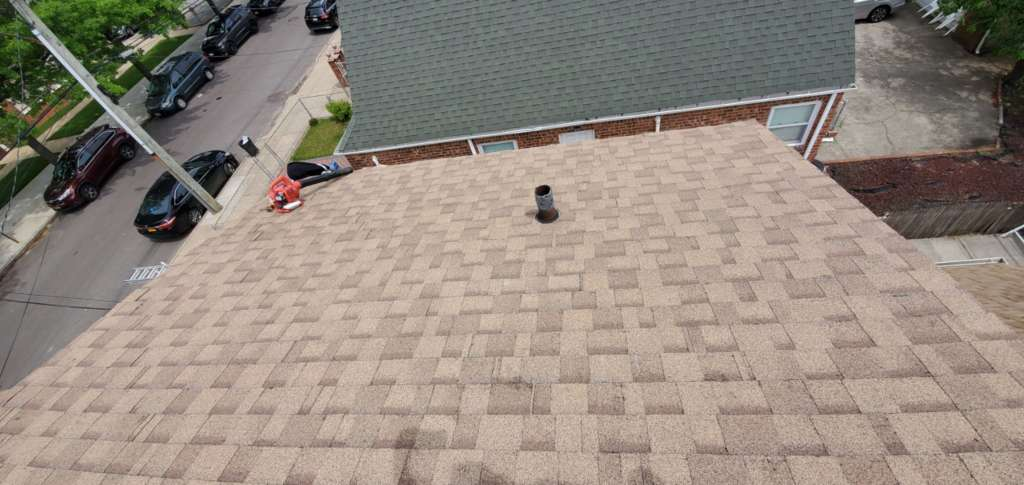 Project: Shingle Replacement and New Roof Installation Service Project Shot 2