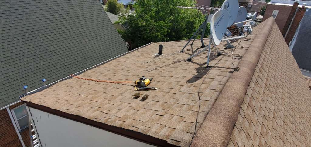 Project: Shingle Replacement and New Roof Installation Service Project Shot 3
