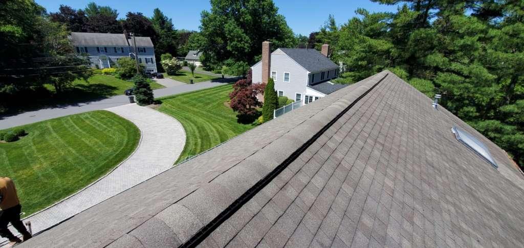 Project: Ridge Vent Installation Service Project Shot 5