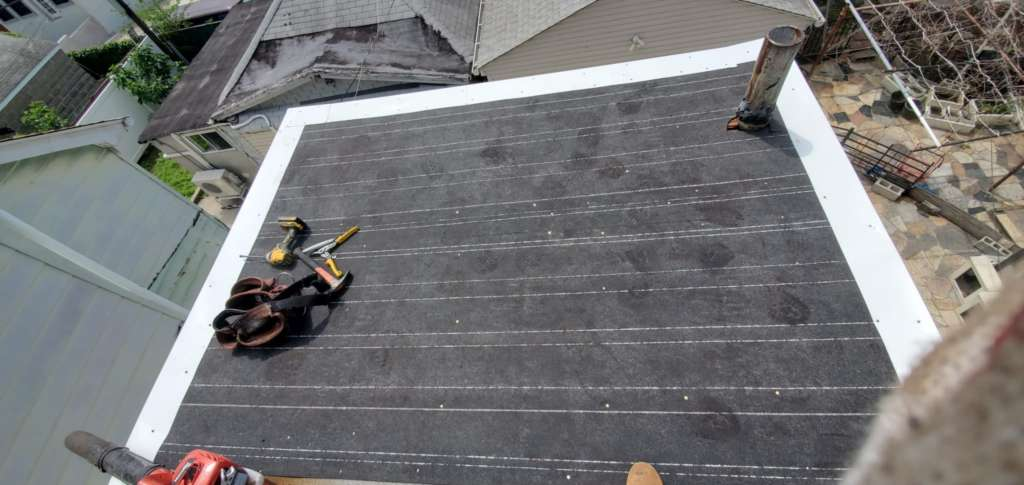 Project: Roof Replacement in Queens: Project Shot 2