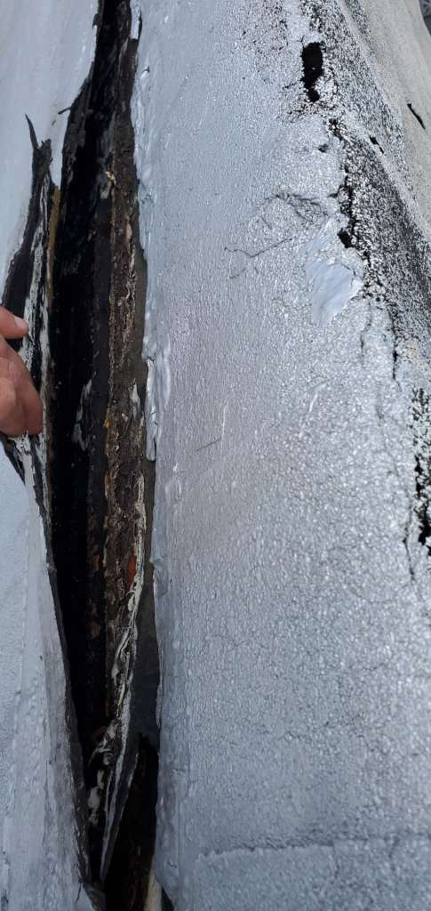 Existing Flat Roof Replacement Service: Project Shot 1