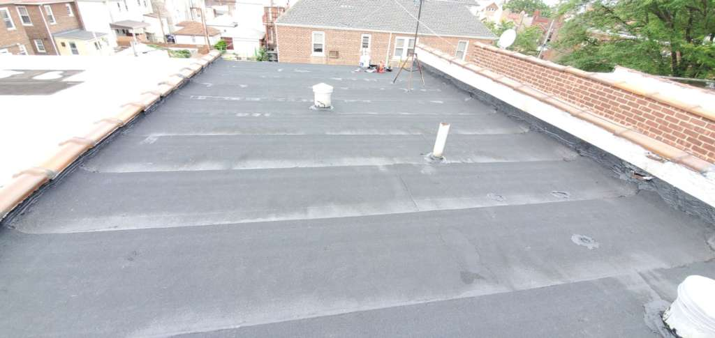 Existing Flat Roof Replacement Service: Project Shot 2