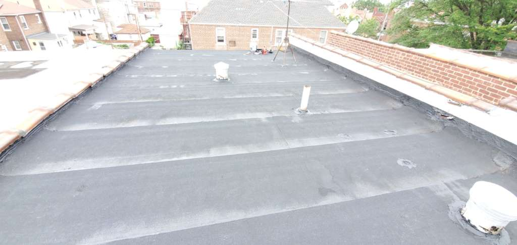 Existing Flat Roof Replacement Service: Project Shot 3