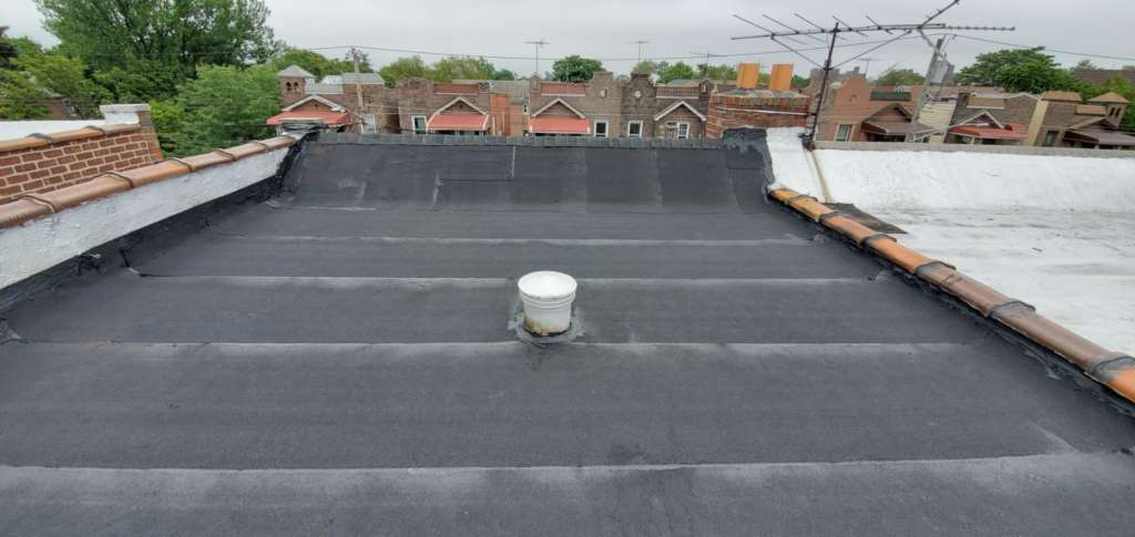 Existing Flat Roof Replacement Service: Project Shot 4