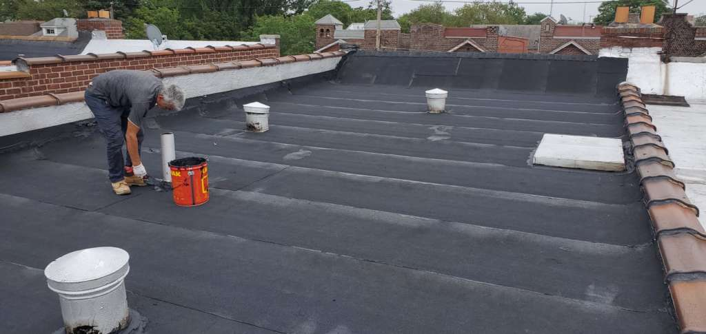 Existing Flat Roof Replacement Service: Project Shot 5