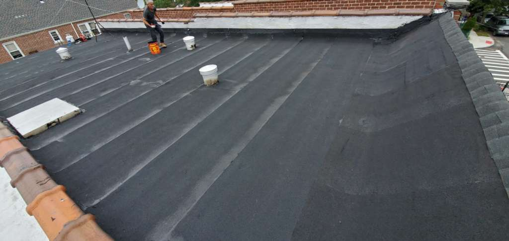 Existing Flat Roof Replacement Service: Project Shot 8
