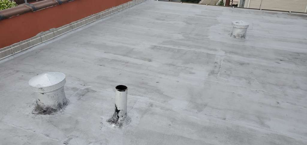 Flat Roof Vent Installation Service Project Shot 1