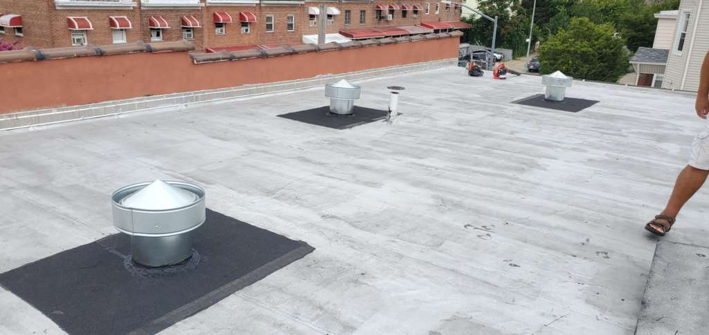 Flat Roof Vent Installation Service Project Shot 4
