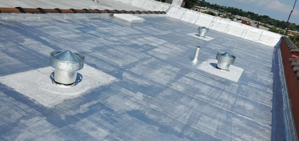Flat Roof Vent Installation Service Project Shot 6