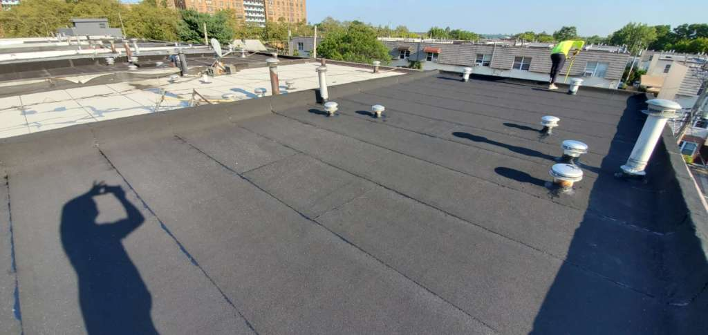 Existing Flat Roof Repair Service the Bronx Project Shot 4